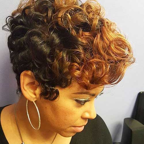 Short Curly Pixie Hairstyles-10