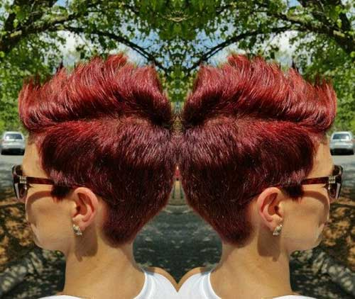 Red Pixie Cut-11