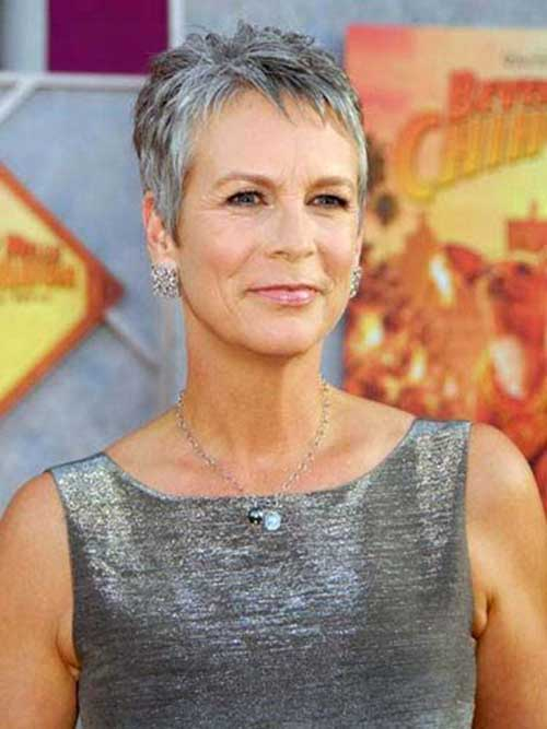 Short Pixie Haircuts for Gray Hair-11