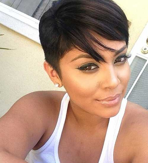 Short Dark Pixie Hairstyles-14