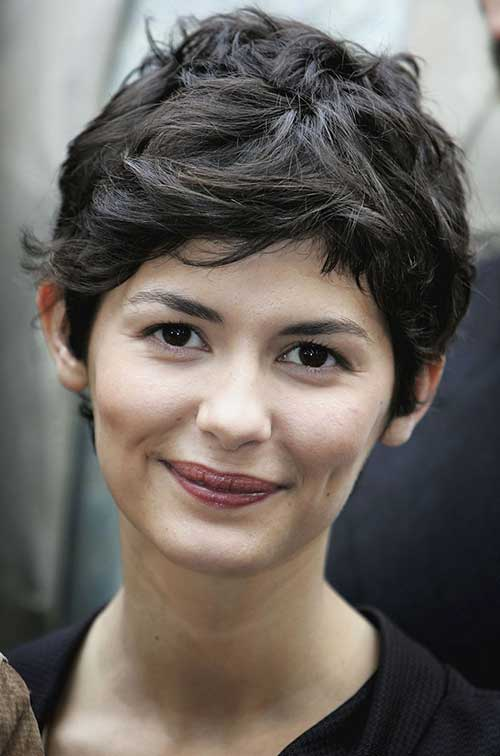 Short Dark Pixie Hairstyles-15