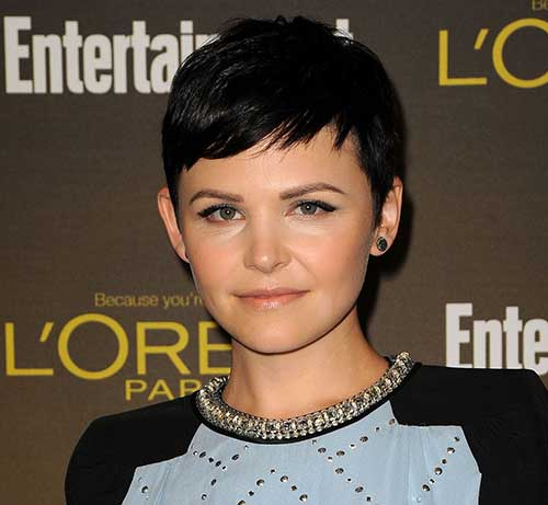 Pixie Cuts for Round Faces-17