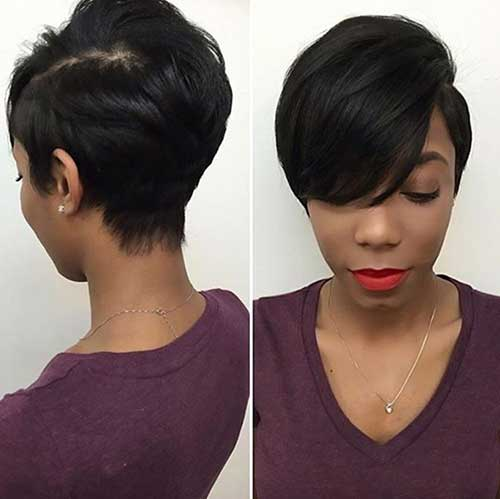 Short Dark Pixie Hairstyles-20