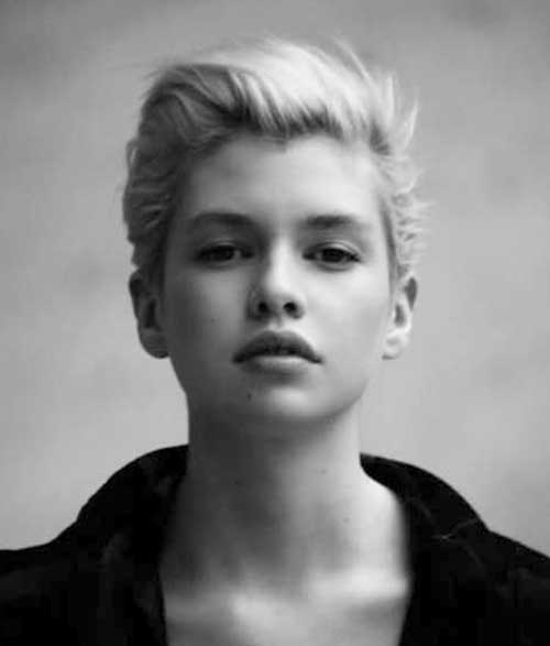 Pixie Cuts for Round Faces-24