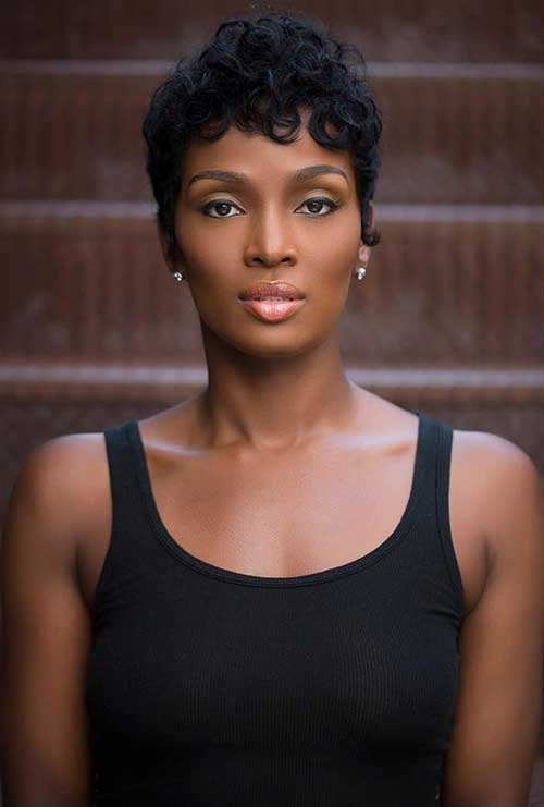 Pixie Cuts for Black Women-6