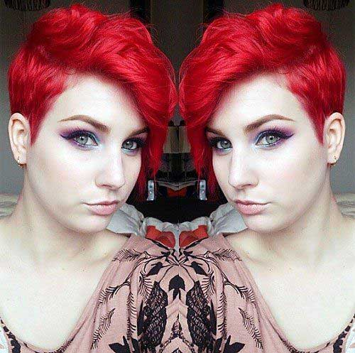 Red Pixie Cut-7