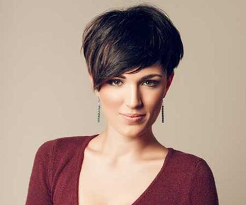 Short Dark Pixie Hairstyles-7
