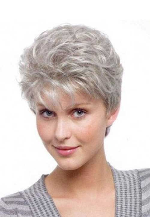 Short Pixie Haircuts for Gray Hair-7