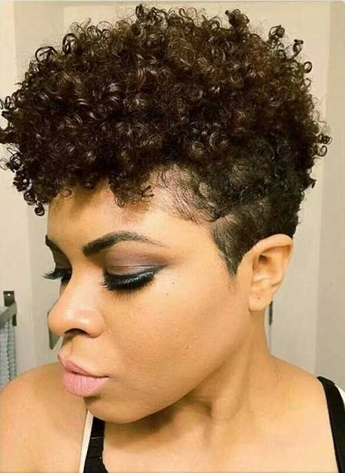 Pixie Cuts for Black Women-8