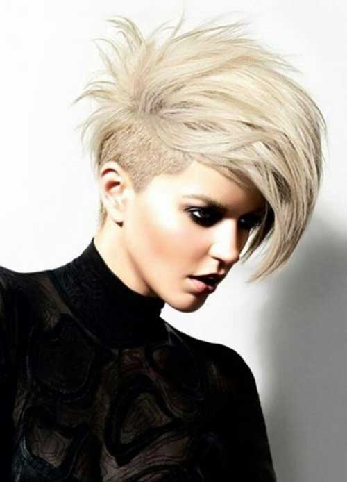 Pixie Cuts with Shaved Side-8