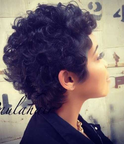 Short Curly Pixie Hairstyles-8