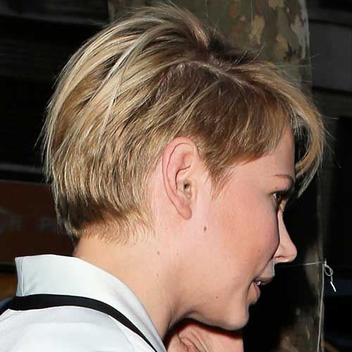Pixie Haircut Back