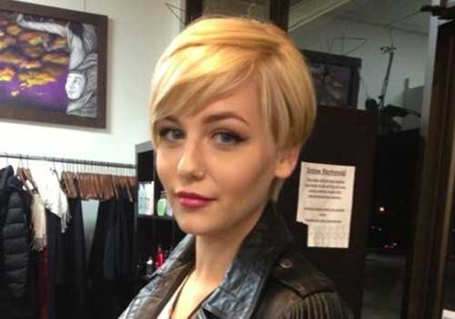 25 Blonde Pixie Cuts