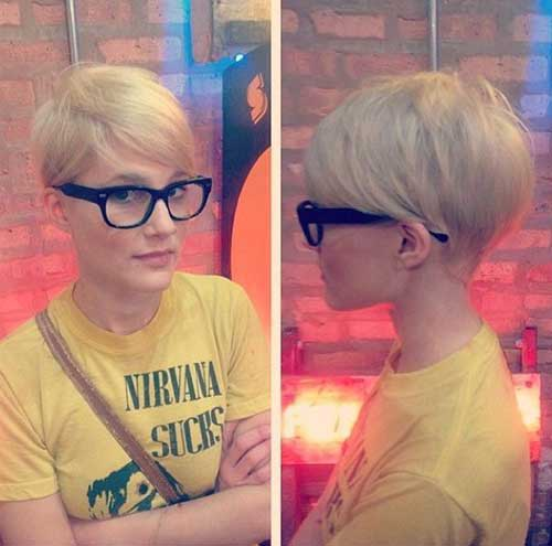 Blonde Pixie Haircuts