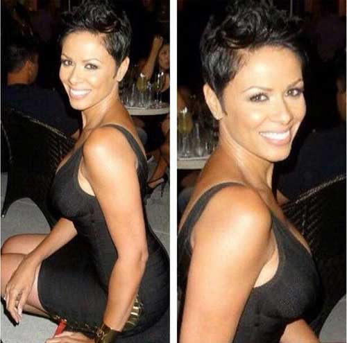 Pixie Haircut for Black Hair