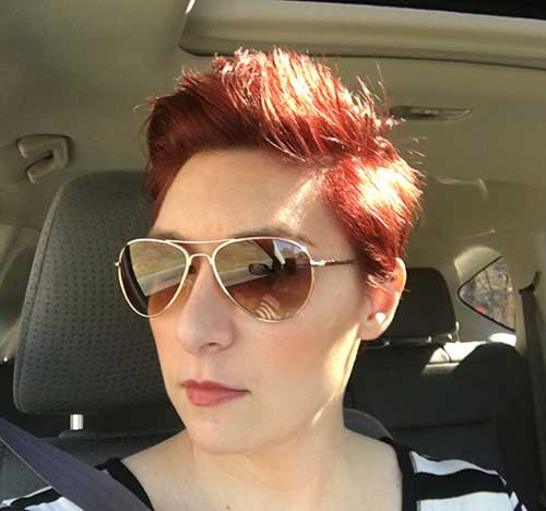 Pixie Red Hair