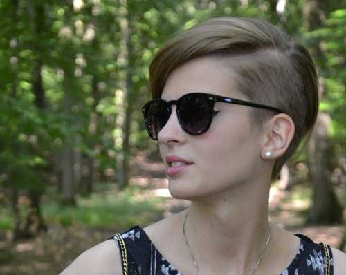 Pixie Haircut Shaved Side