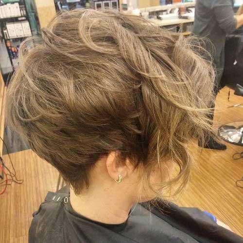 Pixie Wavy Hair
