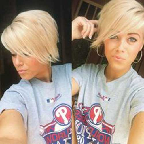 Long Pixie Hairstyles with Bangs-10
