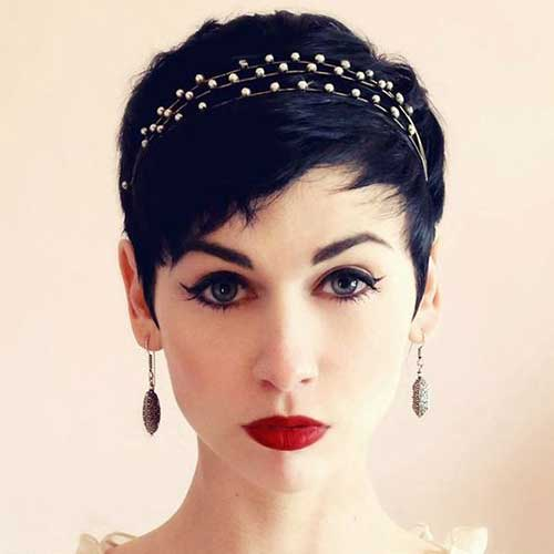 Wedding Hairstyles for Pixie Cuts-10