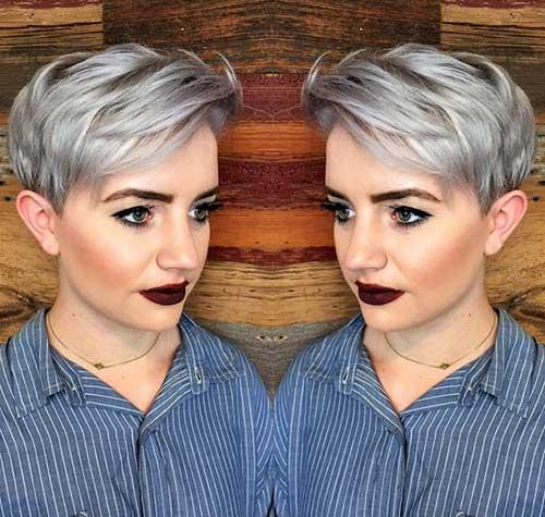 Pixie Haircut for Gray Hairs-11