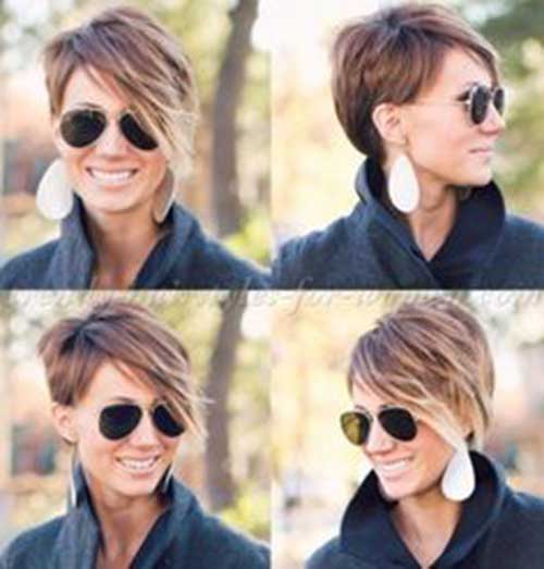 Long Pixie Hairstyles with Bangs-13