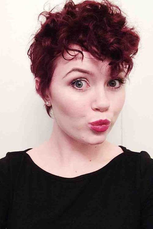 Pixie Cuts for Curly Hairs-13