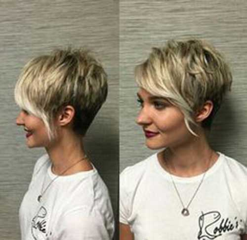 Long Pixie Hairstyles with Bangs-14