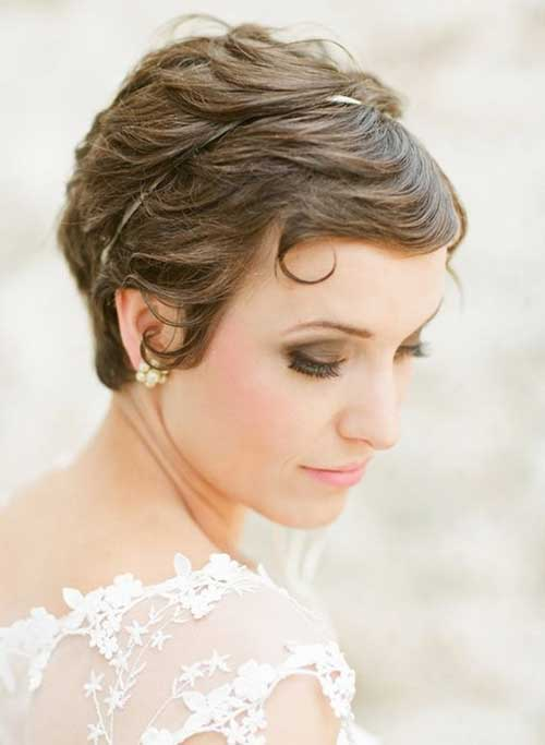 Wedding Hairstyles for Pixie Cuts-15