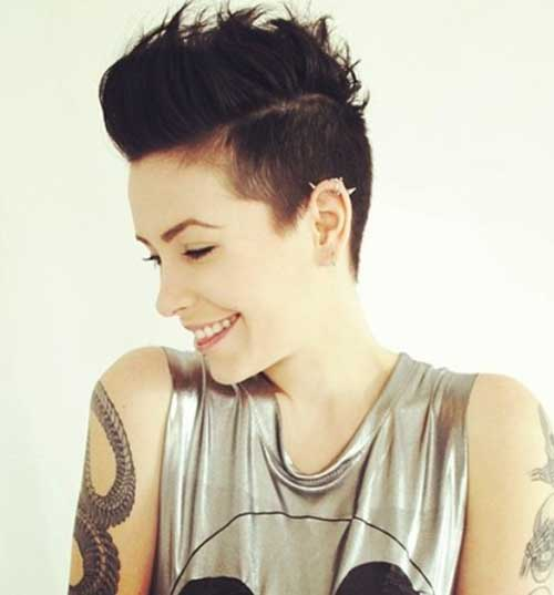 Undercuts Pixie Cuts for Badass Women-17