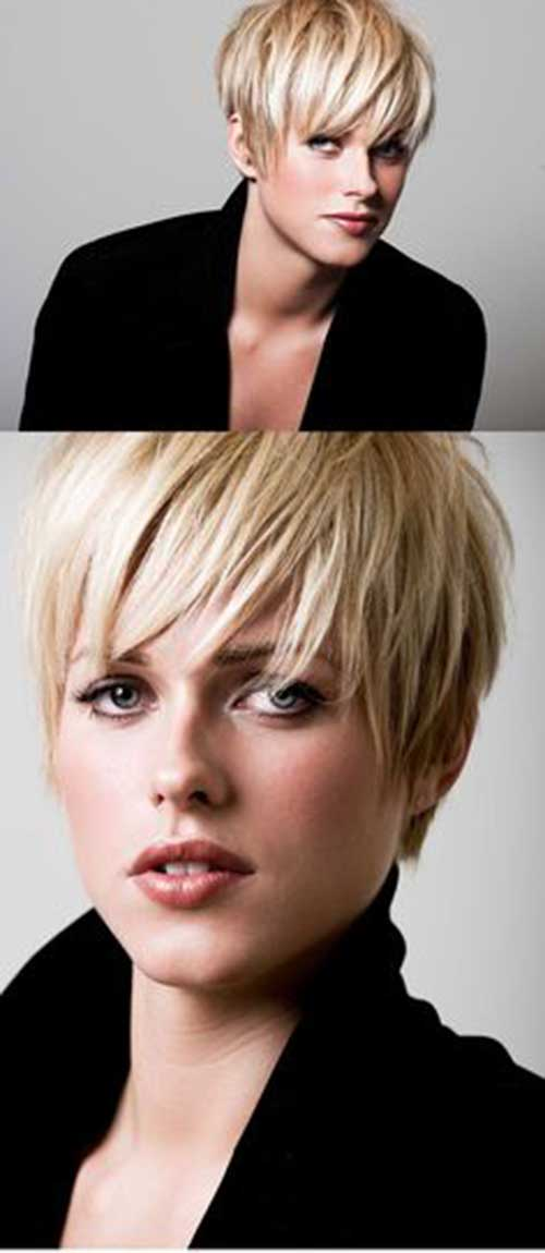 Long Pixie Hairstyles with Bangs-17