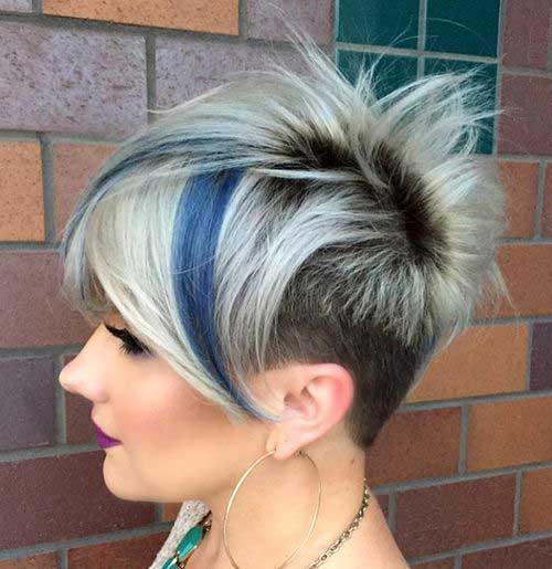 Short Funky Pixie Hairstyles-17