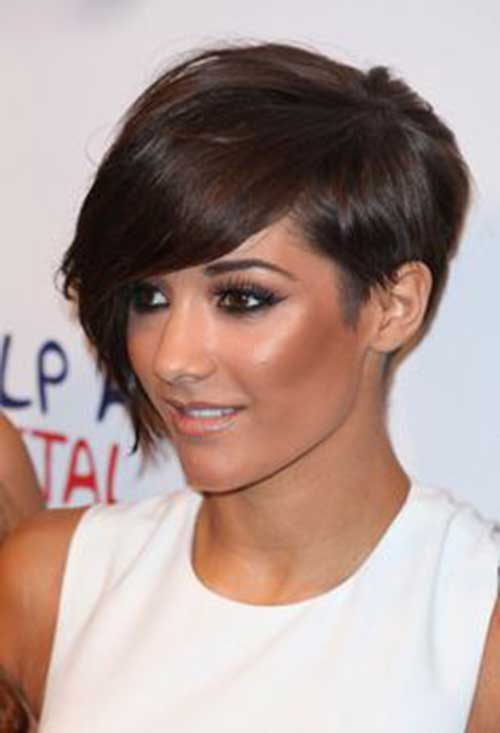 Long Pixie Hairstyles with Bangs-19