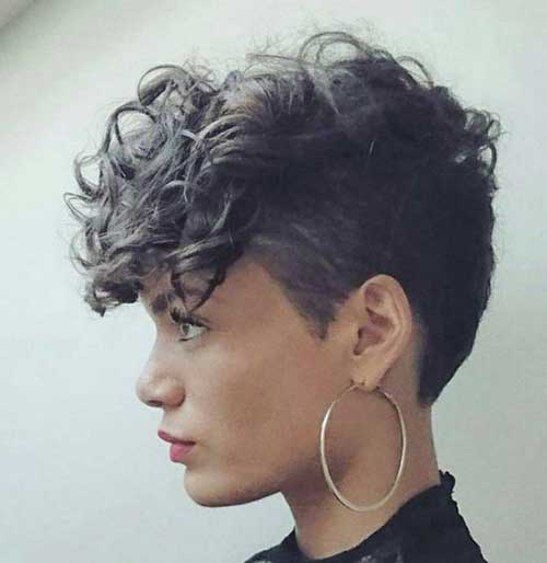 Pixie Cuts for Curly Hairs-19
