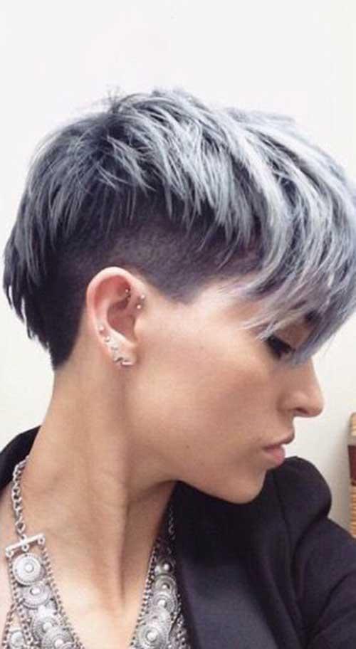 20 Pixie Haircut For Gray Hair Pixie Cut Haircut For 2019
