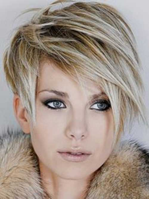 Long Pixie Hairstyles with Bangs-21