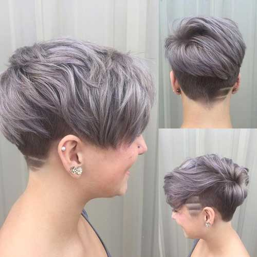 Pixie Haircut for Gray Hairs-21