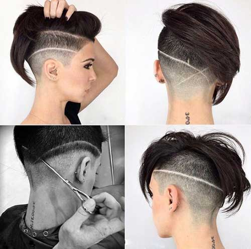 Cool Mohawk Pixie Cuts-6