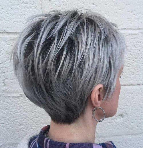 Pixie Haircut for Gray Hairs-6