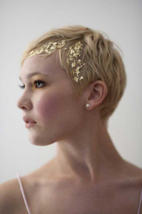 Wedding Hairstyles for Pixie Cuts-6