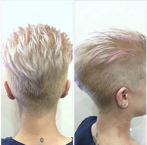 Undercuts Pixie Cuts for Badass Women-7