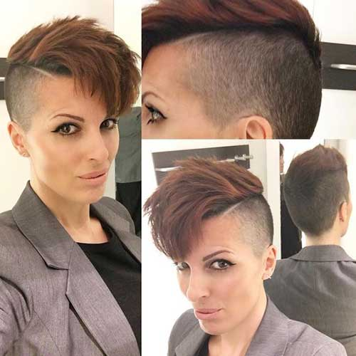 Cool Mohawk Pixie Cuts-7