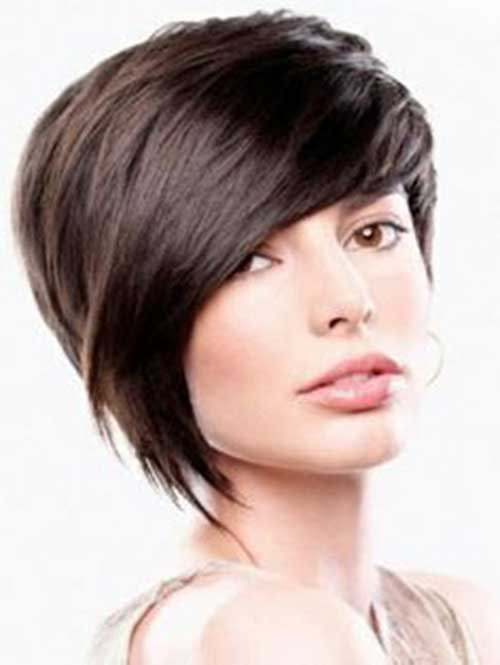 Long Pixie Hairstyles with Bangs-7