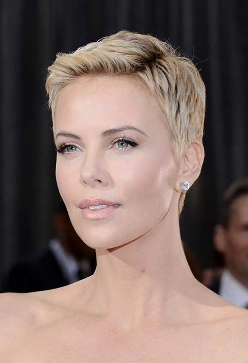 25+ Charlize Theron Pixie Haircut