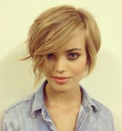 20+ Long Pixie Hairstyles with Bang