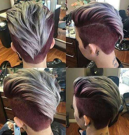Mohawk Pixie Hairstyles