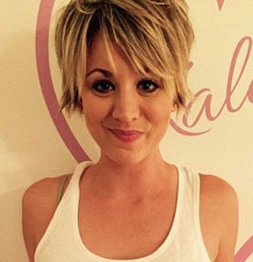 2015 Daily Blonde Pixie Hairstyles