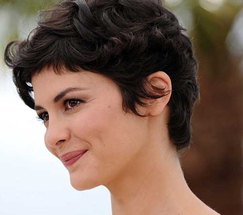 Actresses with Dark Pixie Haircuts