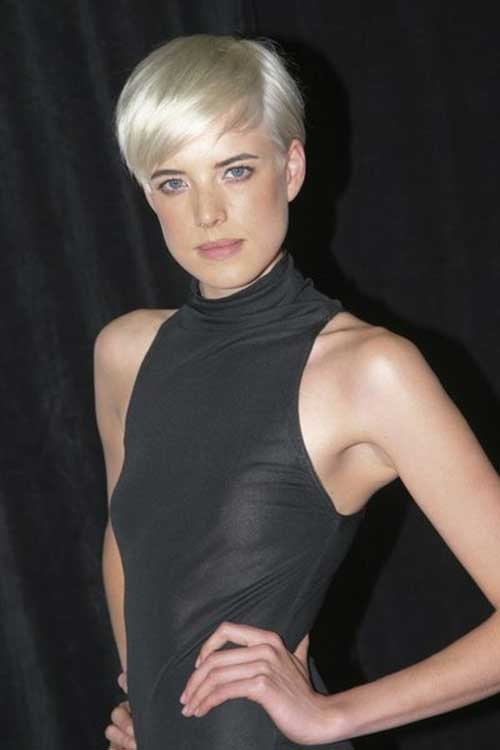 Agyness Deyn Blonde Pixie Hair