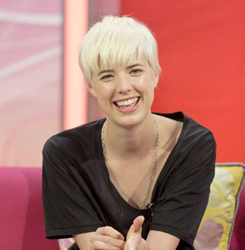 Agyness Deyn Blonde Pixie Cut